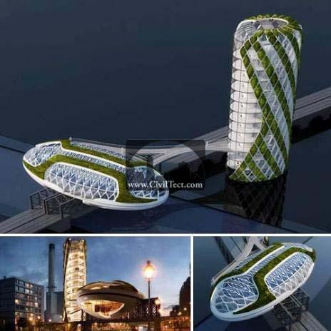 آسمانخراشهای آینده – معماری بایونیک
