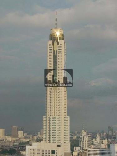 برج Baiyoke دوم (Baiyoke Tower II) تایلند