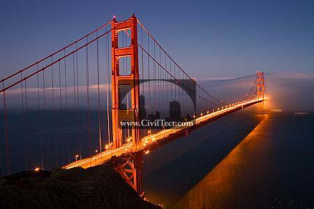 دانستنی های جالب پل دروازه طلایی (گلدن گیت – Golden Gate Bridge)