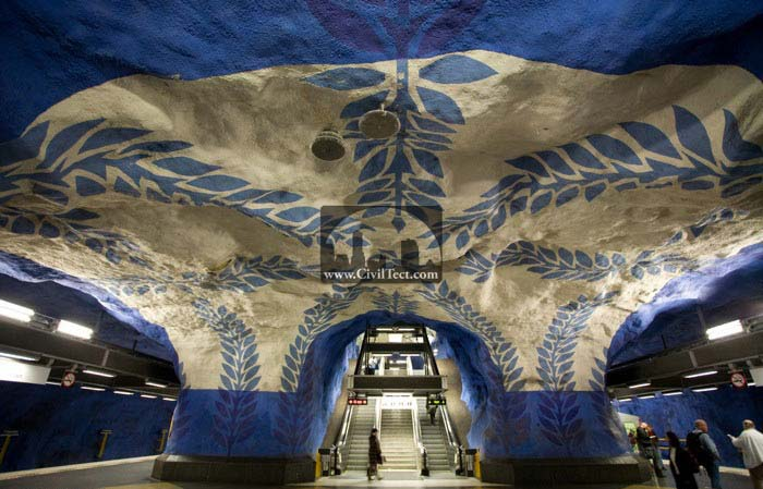 زیباترین ایستگاه های مترو جهان