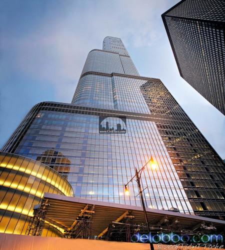 هتل و برج بین المللی ترامپ (Trump International Hotel And Tower) شیکاگو