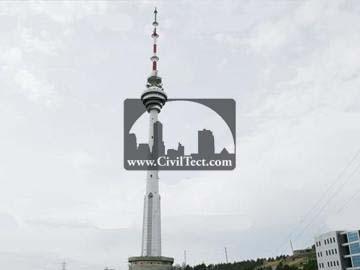 برج تلویزیون باکو ( The Baku TV Tower )