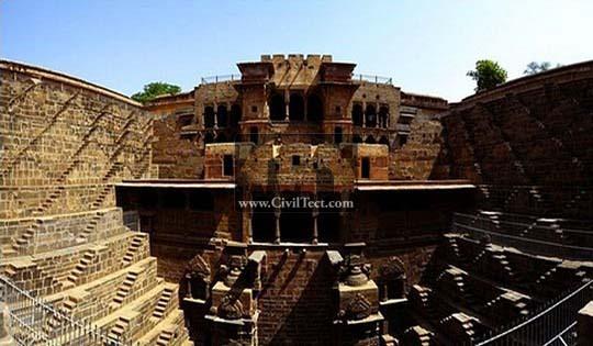 عمیقترین و پهنترین چشمه دنیا – سازه هندی