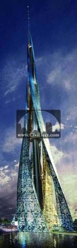 شهر عمودی در دبی – آسمانخراش ۲۴۰۰ متری!
