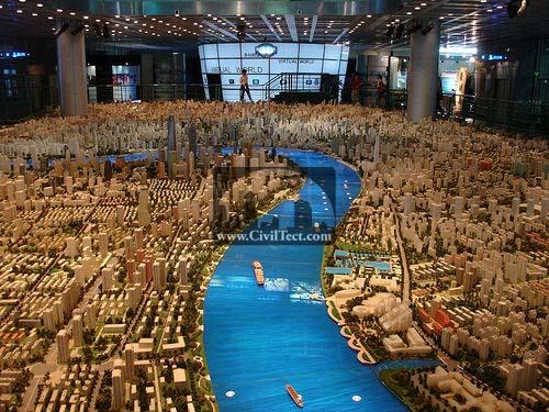 مدل عظیم شهر شانگهای چین در سال ۲۰۲۰