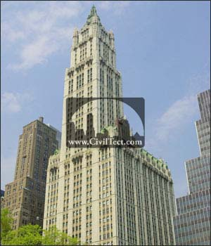ساختمان وول ورث ( Woolworth Building ) – نیویورک