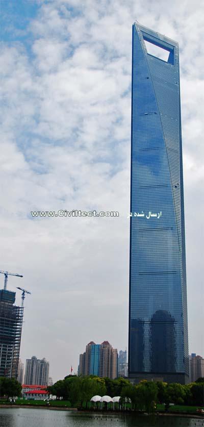 مرکز مالی جهان شانگهای (Shanghai World Financial Center) شانگهای چین