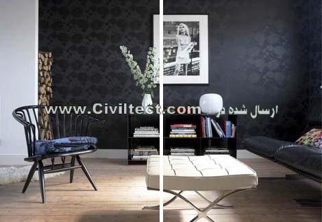 نحوه انتخاب رنگ مناسب برای دکوراسیون خانه و اتاق نشیمن