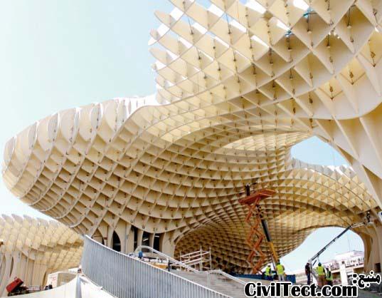 بزرگترین سازه چوبی جهان در اسپانیا!
