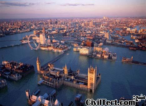 سفر به آینده: لندن پس از تغییرات آب و هوایی
