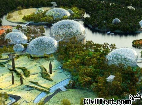 باغ وحش جدید مسکو – شبیه سازی قاره های جهان