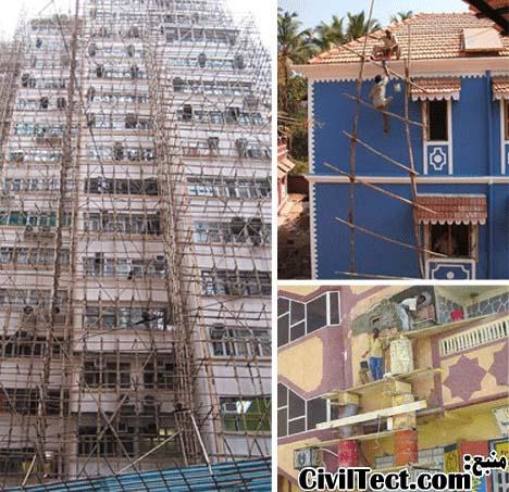داربستهای ترسناک: برخی از خطرناکترین موقعیتهای ساخت و ساز