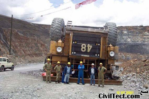 شکست شکست ناپذیرها! – ماشین آلات سنگین معدن