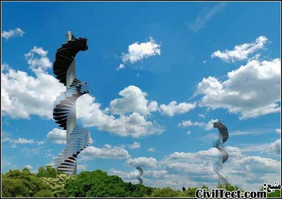 آسمانخراش پله ای – تحقق رویای بشر