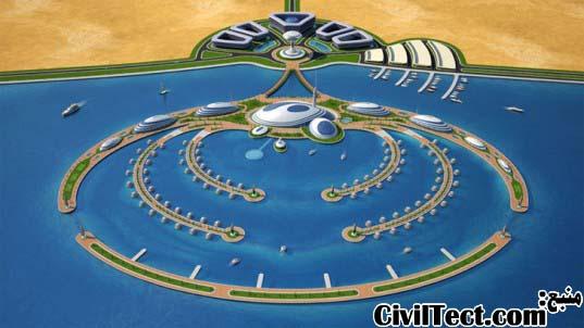 جزیره مصنوعی شناور قطر
