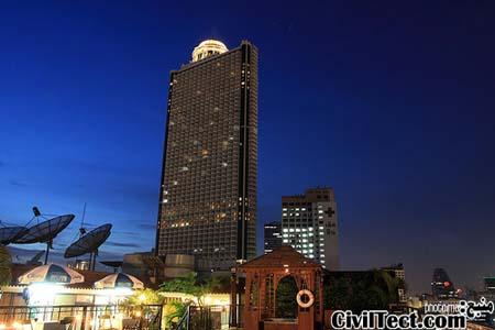 برج دولت (State Tower) بانکوک – تایلند