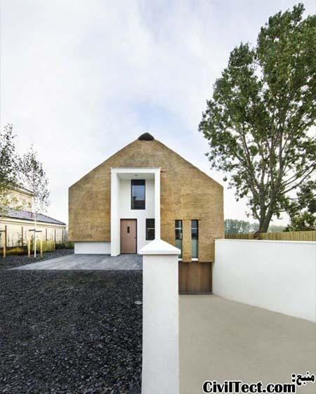 خانه ای که علارغم ظاهر سنتی و ساده اش بسیار مدرن میباشد!