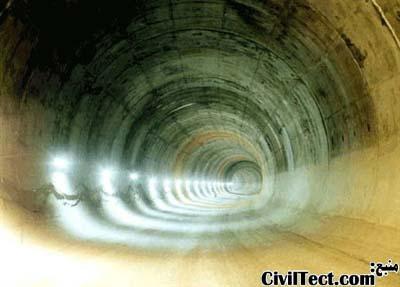 تونل حفاری شده به روش اتریشی