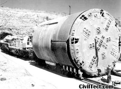 دستگاه TBM - ماشین حفاری تونل