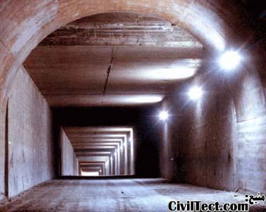 تونل حفاری شده به روش ترانشه باز