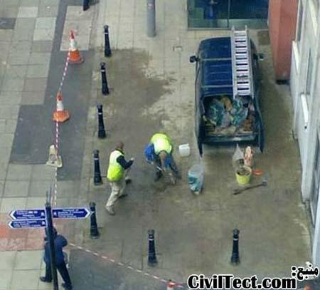 شاید این اشتباه مهندسی نباشه اما بخاطر عمق فاجعه دیدنش خالی از لطف نیست!! به نظر شما این آقایون محترم که این مانعها رو گذاشتن اتومبیلشون رو چجوری میخوان ببرن؟!