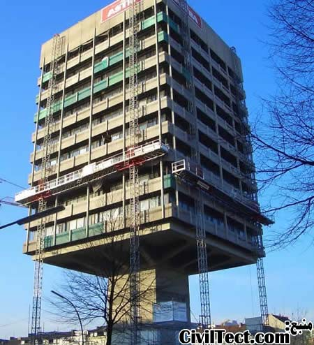 زشت ترین ساختمان آلمان - واقع در هامبورگ