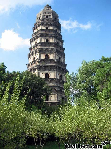 پاگودا تپه ببر – چین