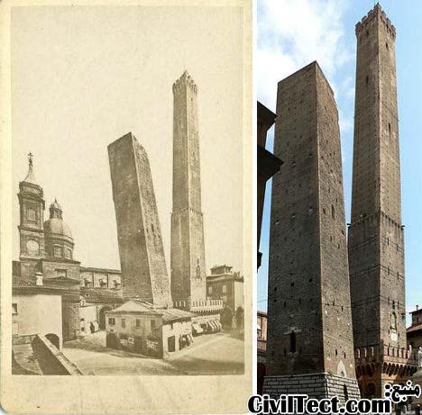 دو برج Bologna – ایتالیا