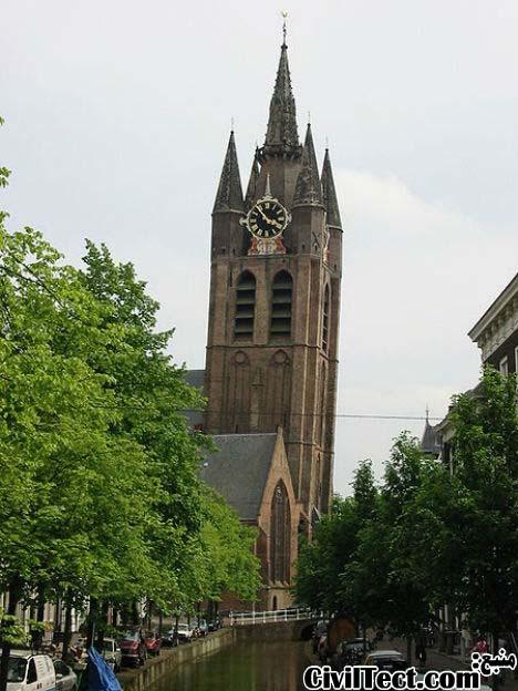 کلیسای قدیمی – شهر دلفت هلند (Oude Kerk – Delft)