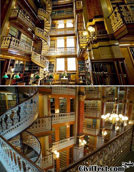 بزرگترین و زیباترین کتابخانه های تاریخی جهان (سری ۲)