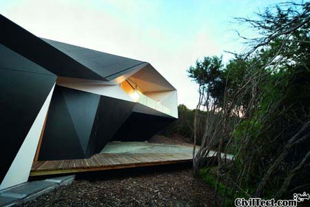 معماری نوین خانه تعطیلاتی
