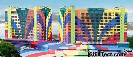 هتل رنگارنگ مالزی