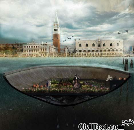جزیره بتنی – رویایی برای شهر ونیز