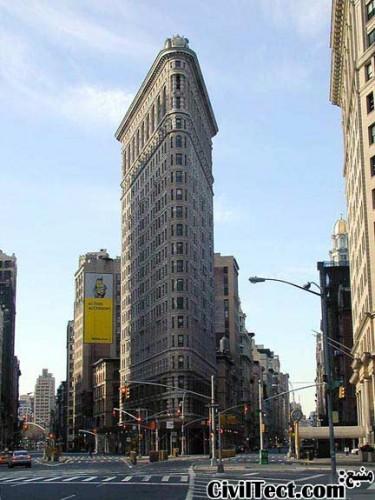 ساختمان اتو (فلت آیرون) منهتن نیویورک