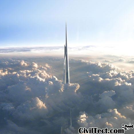 طراحی بلندترین برج جهان – برج kingdom