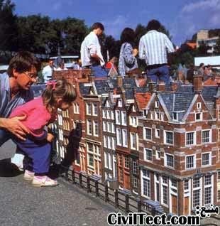 مادورودام در شهر لاهه - هلند - Madurodam The Hague Netherland