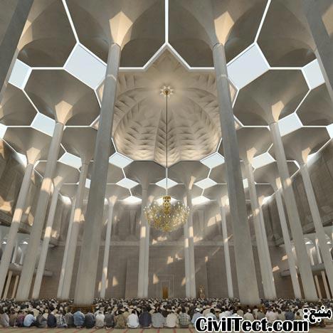 پروپوزال سومین بزرگترین مسجد دنیا در الجزیره