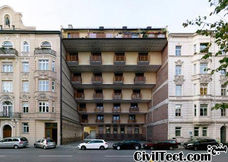 ساختمان مقعر