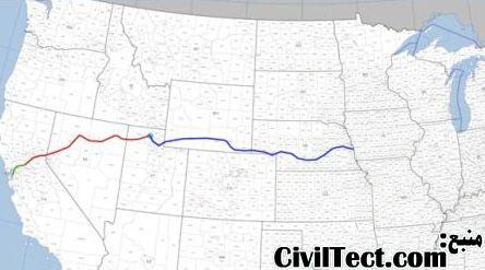 راه آهن سرتاسری آمریکا