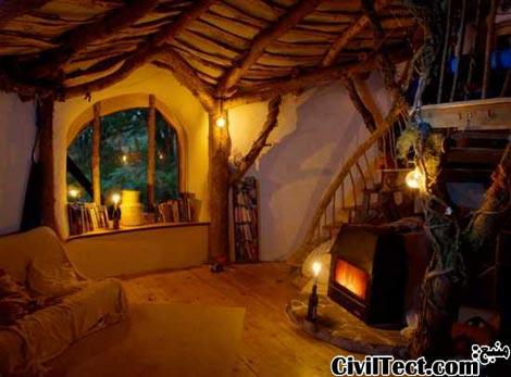 خانه سرزمین چوبی توسط Simon Dale