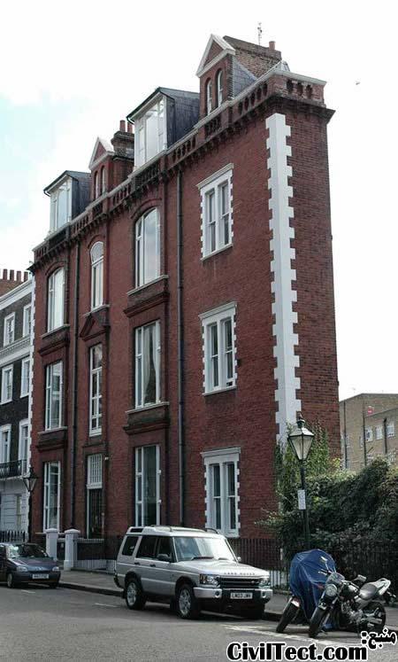 باریکترین خانه لندن - باریکترین ساختمان لندن