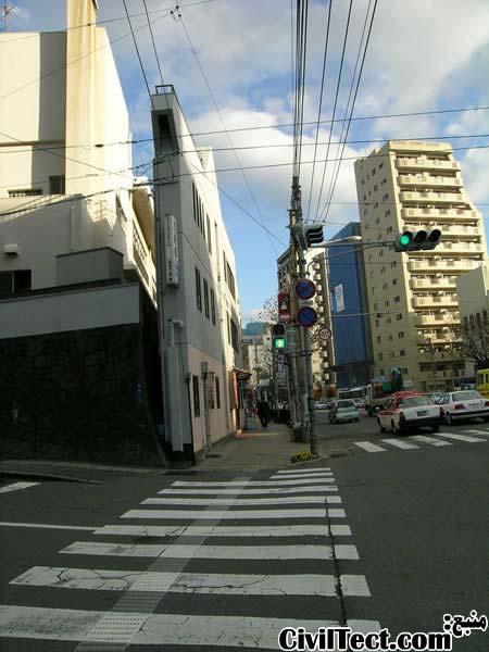 خانه های باریک ژاپن - معماری خانه های باریک ژاپنی