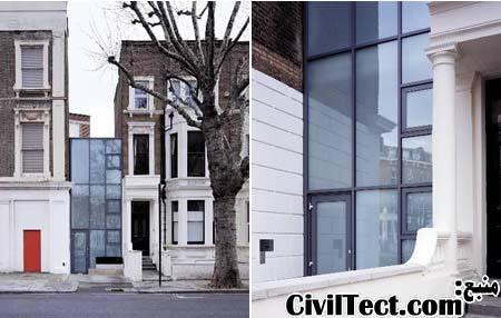 ساختمان نقره ای - باریکترین ساختمانهای جهان - کوچکترین ساختمانهای دنیا