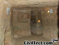 یکی از اتاقهای شهر زیرزمینی - عجایب معماری تاریخی