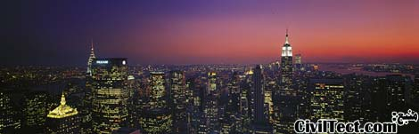 خط افق نیویورک - آسمانخراشهای نیویورک