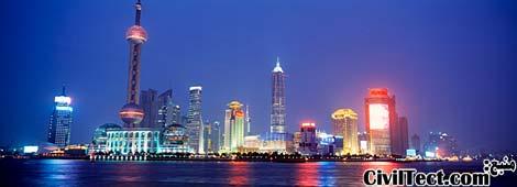 خط افق شانگهای - آسمانخراشهای شانگهای