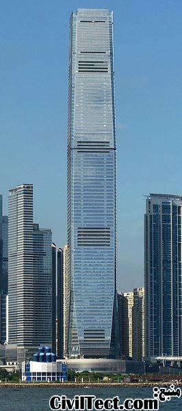 برج مرکز تجارت جهانی - International Commerce Centre هنگ کنگ