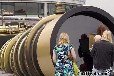 تلسکوپ متصل کننده لندن و نیویورک