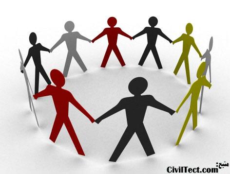 تفاوت مدیریت پروژه با مدیریت ساخت - رابطه کارفرما پیمانکار مشاور