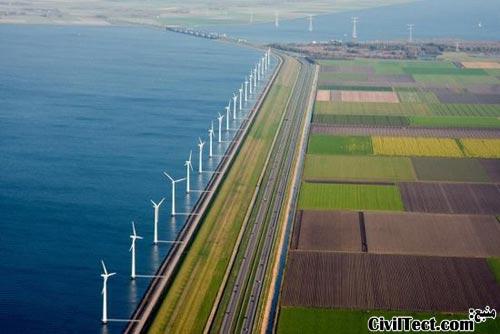 کم ارتفاع ترین نقطه جهان در هلند - پست ترین نقطه جهان